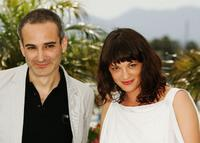 Olivier Assayas and Asia Argento at the photocall of