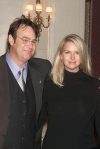 Dan Aykroyd and his wife Donna Dixon at the Food Allergy Ball.