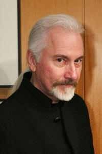 Rick Baker at the Oscar Makeup Cocktail Party.
