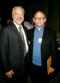 Bob Balaban and Sam Gores at the Paradigm breakfast during the 2007 Tribeca Film Festival.