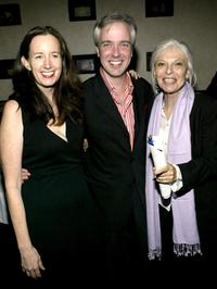 Anne Bancroft, Alan Bailey and Ann Randolph at the opening night party for