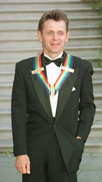 Mikhail Baryshnikov at the reception in Washington.