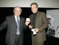 Warren Beatty and Vittorio Storaro at the 4th Annual Cinema Italian Style Festival Los Angeles and the 2007 Cinema Italian Style Awards.