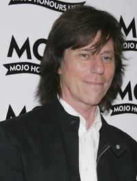 Jeff Beck at the MOJO Honours List awards.