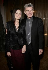 Richard Benjamin and wife Paula Prentiss at the after party for the premiere of