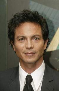 Benjamin Bratt at the European Premiere of 'Catwoman' in London.