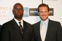 Andre Braugher and Josh Lucas at the Tribeca Performing Arts, attend the premiere of