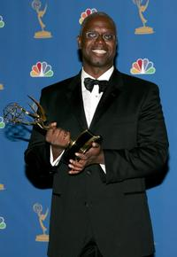 Andre Braugher at the 58th Annual Primetime Emmy Awards, in the press room.