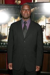 Andre Braugher at the premiere of