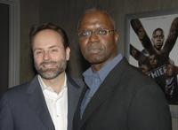 Andre Braugher and John Landgraf at the premiere screening of