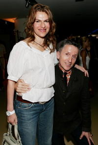 Sandra Bernhard and Simon Doonan at the Amy Sacco's