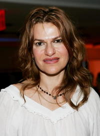 Sandra Bernhard at the Amy Sacco's