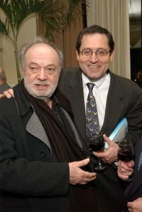 Claude Berri and Michael Barker at the Rendez-Vous with French Cinema.