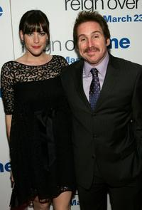 Liv Tylver and Mike Binder at the premiere of