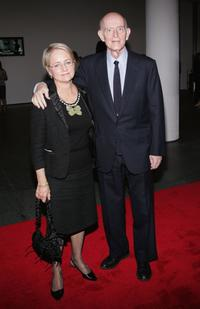 Peter Boyle and his wife Lorraine Alterman at the