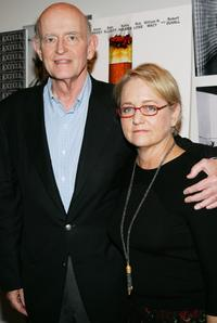 Peter Boyle and his wife Loraine Alterman Boyle at the premiere of