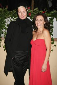 Jane Alexander and Lidia Vitale at the 2nd Rome Film Festival, attend Ciak magazine party.