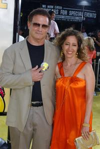 Albert Brooks with his wife at the Los Angeles premiere of 20th Century Foxs
