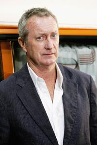 Bryan Brown at the press conference to introduce the key cast of the new television production