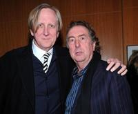 T-Bone Burnett and Eric Idle at the after party of the premiere of