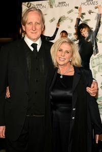 T-Bone Burnett and Callie Khouri at the premiere of