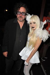 Tim Burton and Kerli at the Spike TV's 2008 Scream Awards.