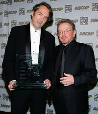 Carter Burwell and Paul Williams at the 24th Annual ASCAP Film and Television Music Awards.