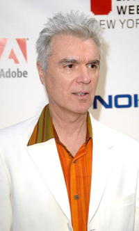 David Byrne at the 12th Annual Webby Awards.