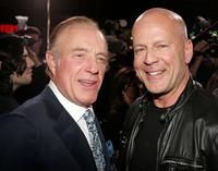 James Caan and Bruce Willis at the Grauman?s Chinese Theater for the premiere of MGMs