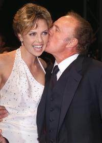 James Caan and Charlize Theron at the Palais des Festivals for the screening of US director James Gray movie