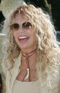 Dyan Cannon at the Playboy Mansion for the 12th Annual Safari Brunch, a fundraiser for the Wildlife Waystation.