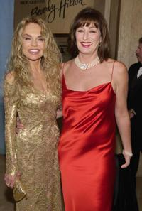 Dyan Cannon and Anjelica Huston at the Beverly Hilton Hotel for the