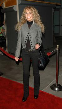 Dyan Cannon at the Los Angeles ArcLight Theatre for premiere of