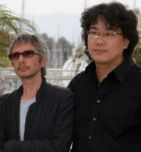 Leos Carax and Bong Joon Ho at the photocall of