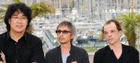 Bong Joon Ho, Leos Carax and Denis Lavant at the photocall of