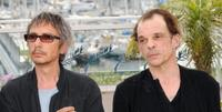 Leos Carax and Denis Lavant at the photocall of