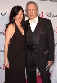 Annie Bierman and David Carradine at the 57th Annual DGA Awards Dinner.