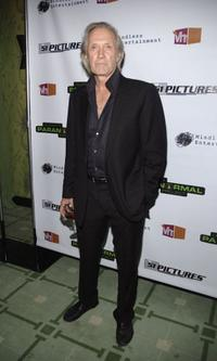 David Carradine at the Launch Party of Vh1's Celebrity Paranormal Project.