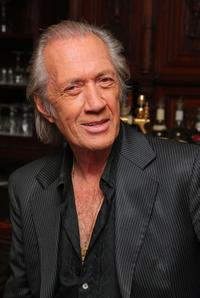 David Carradine at the meet-and-greet for