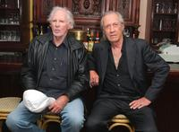 Bruce Dern and David Carradine at the meet-and-greet for