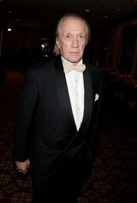 David Carradine at the Hyatt Regency Century Plaza Hotel for the 60th annual DGA Awards.