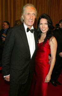 David Carradine and Annie Bierman at the 57th Annual DGA Awards Dinner.