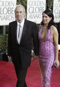David Carradine and Emily at Beverly Hills for the 62nd annual Golden Globe Awards.