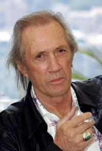 David Carradine at the Cannes Film Festival for the film