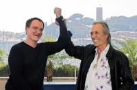 David Carradine and Quentin Tarantino at the Cannes Film Festival for the film