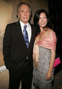 David Carradine and Annie Bierrman at the Ninth Annual Prism Awards.