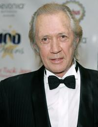 David Carradine at the 18th Annual Night of 100 Stars Gala.