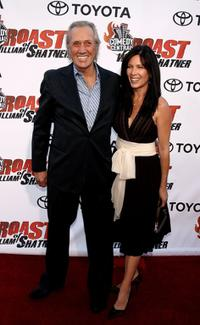 David Carradine and Annie Bierman at the Comedy Central Roast of William Shatner.