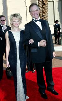 Keith Carradine and Martha Plimpton at the Shrine Auditorium for the 2002 Creative Arts Emmy Awards.