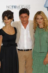 Penelope Cruz, Sergio Castellitto and Claudia Gerini at the photocall of